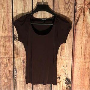 DKNY Brown blouse